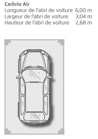 Carport Cabrio Air