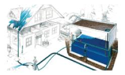 Hydria, utilisation de l'eau de pluie - Zapf