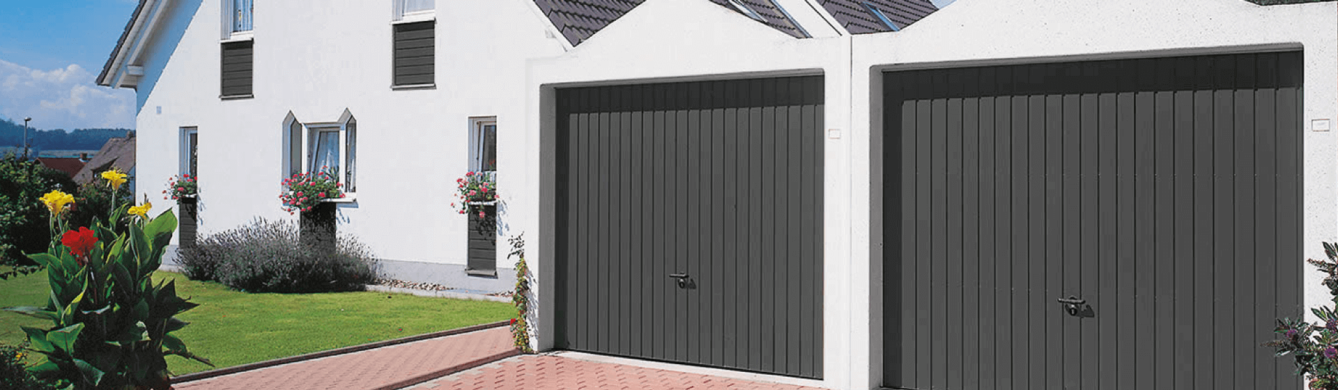 Garages doubles zapf garages pr fabriqu s for Fermer carport en garage