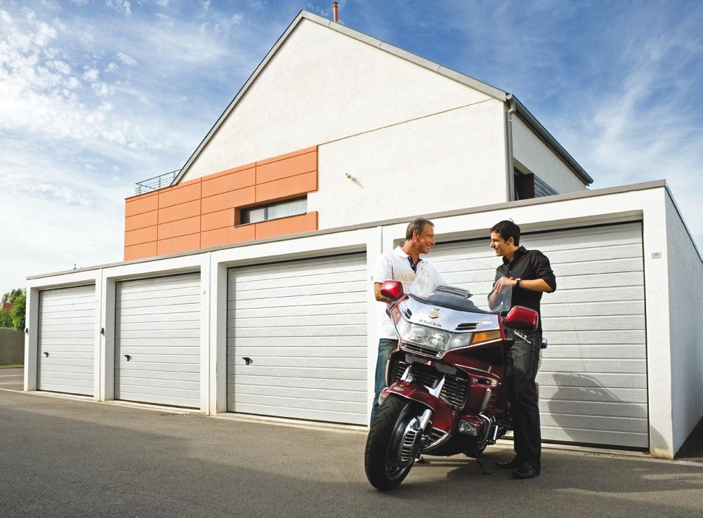 garage batterie moderne
