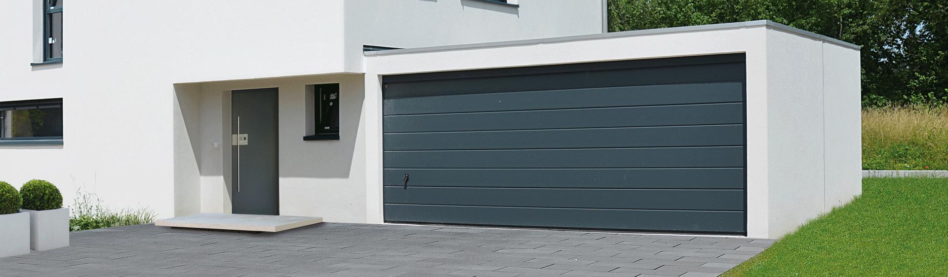 Garage grande capacit zapf garages pr fabriqu s for Fermer carport en garage