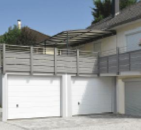 Toiture garage